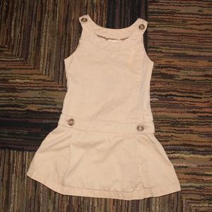*3 FOR 15* Gap Khaki School Uniform Jumpsuit Dress